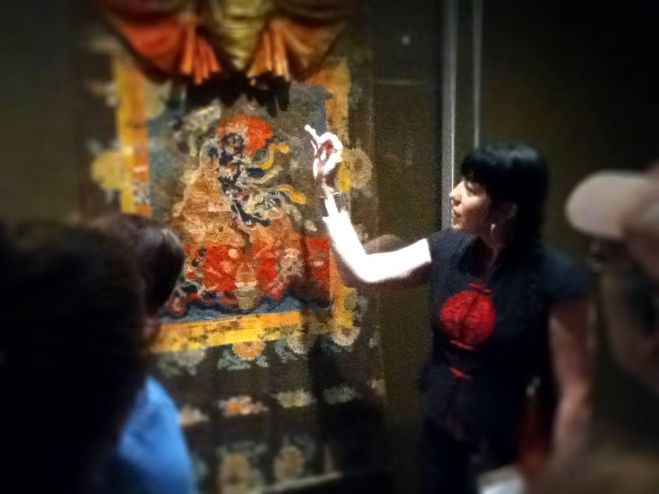 rondleiding tibetaanse kunst in museum