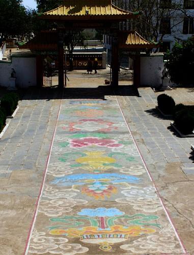 Dalai Lama schilderij