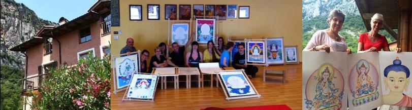 tibetaanse-boeddha-schilderen